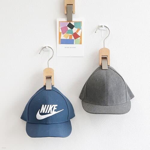 [홈앤하우스] 원목 모자걸이