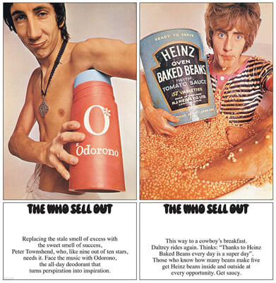 The Who (더 후) - The Who Sell Out (Stereo Deluxe) [2LP]