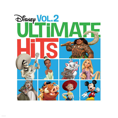 디즈니 명곡 모음 2집 (Disney Ultimate Hits Vol. 2) [LP]