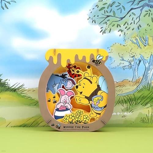 디즈니 푸우 3D 종이극장