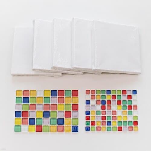 색타일 캔버스액자(5인용)  DIY키트 집콕만들기