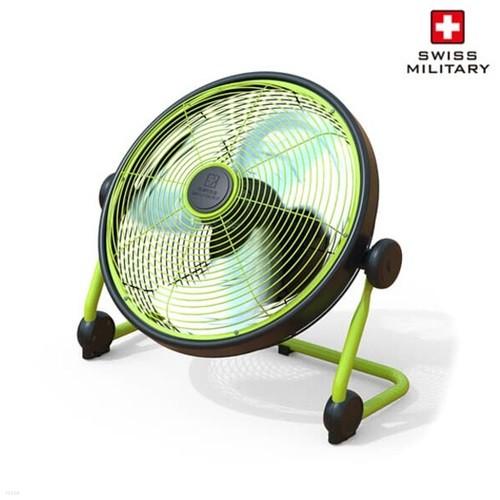 [스위스밀리터리] NEW 코브 라이트 BLDC모터 야외용 무선 선풍기 (SMA-OD245F/방수가능/메탈소재/캠핑선풍기/저소음)