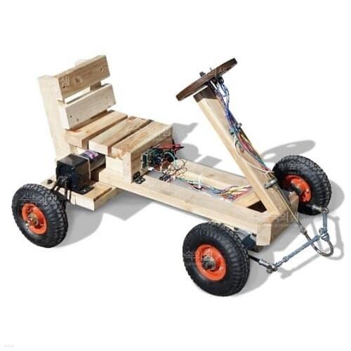 내맘대로 고카트만들기 풀키트 [1인용 경주자동차만들기] 체험형 융합인재교육