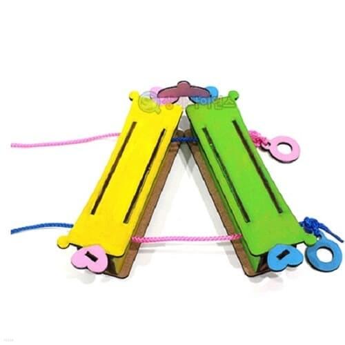 당기면 끈의 색이 변하는 마술 상자(1인용 포장) 과학DIY 과학준비물