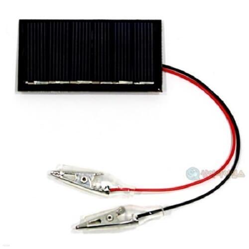 SA 안전 집게전선 태양전지판-D형(3V 110mA)