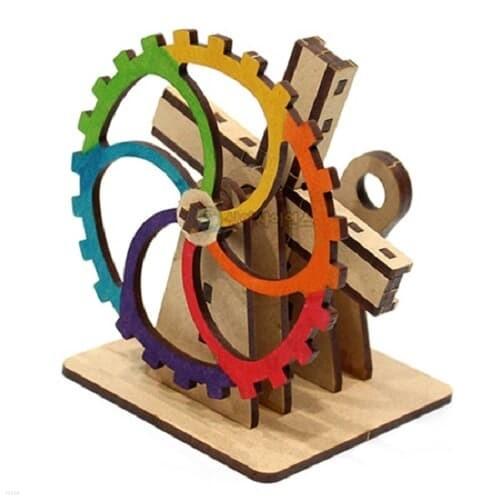 기계장치-더블 슬라이더 크랭크(1인용 포장) 과학DIY 과학준비물