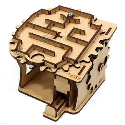 기계장치-기어 미로(1인용 포장) 과학DIY 과학준비물