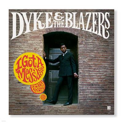Dyke & The Blazers (다이크 앤 더 블레이저스) - I Got A Message: Hollywood 1968-1970 [2LP]