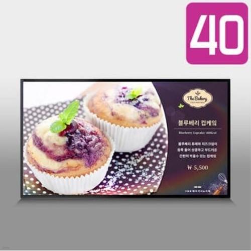 카멜 40형 디지털사이니지 CDS4010 광시야각 패널 광고모니터  / 모듈 선택