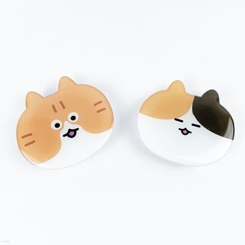 얼룩 고양이 스마트톡 그립톡 거치대 2type