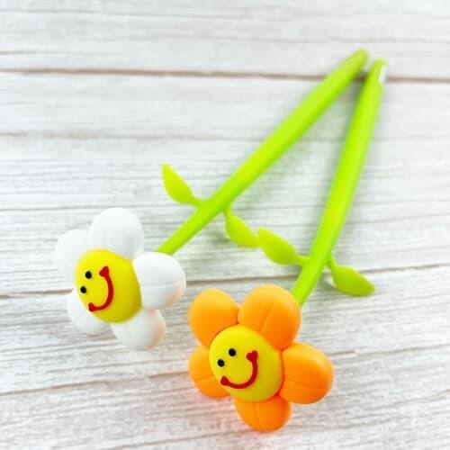 흔들흔들 꽃 볼펜 2type