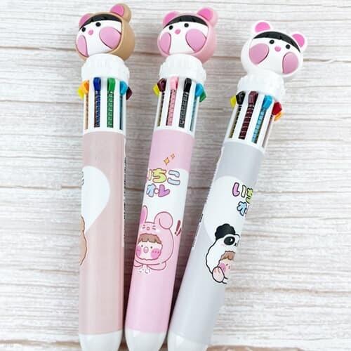 동물모자 10색 어린이 다색 볼펜