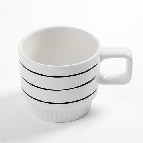 러빙홈 머그컵(320ml) 홈카페 심플머그잔 커피잔