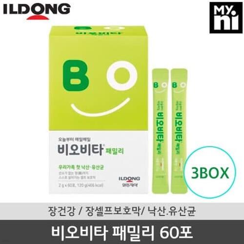 [일동제약] 비오비타 패밀리 2g X 60포 (3box/6개월분)