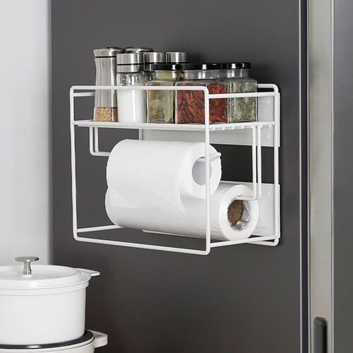 [홈앤하우스] 슬림 냉장고 자석선반 1단