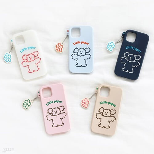 Little PaPer 리틀페퍼 실리콘 케이스 for iPhone11