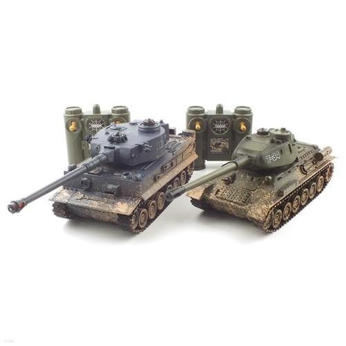 2.4GHz 1/28 T-90 vs M1A2 배틀탱크 RC (YAK237003SET)