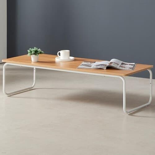 OMT 원목 거실 소파 좌식 테이블 1200x480 인테리어 식탁 티테이블