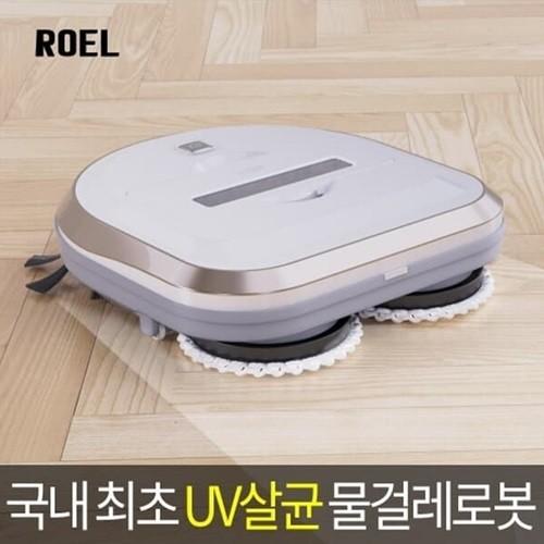 [ROEL] 물걸레 로봇청소기 (듀스핀로봇) UV살균/싸이클론