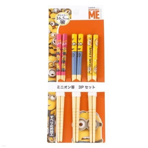 스케이터 미니언즈 나무젓가락 16.5cm(3P)