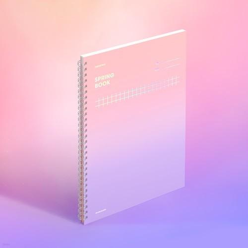 [모트모트] 스프링북 컬러칩 - 드림캐처 (스퀘어드)