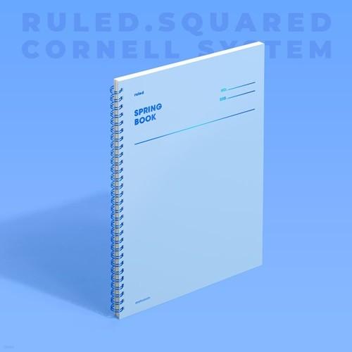 [모트모트] 스프링북 컬러칩 - 세레니티 (룰드)