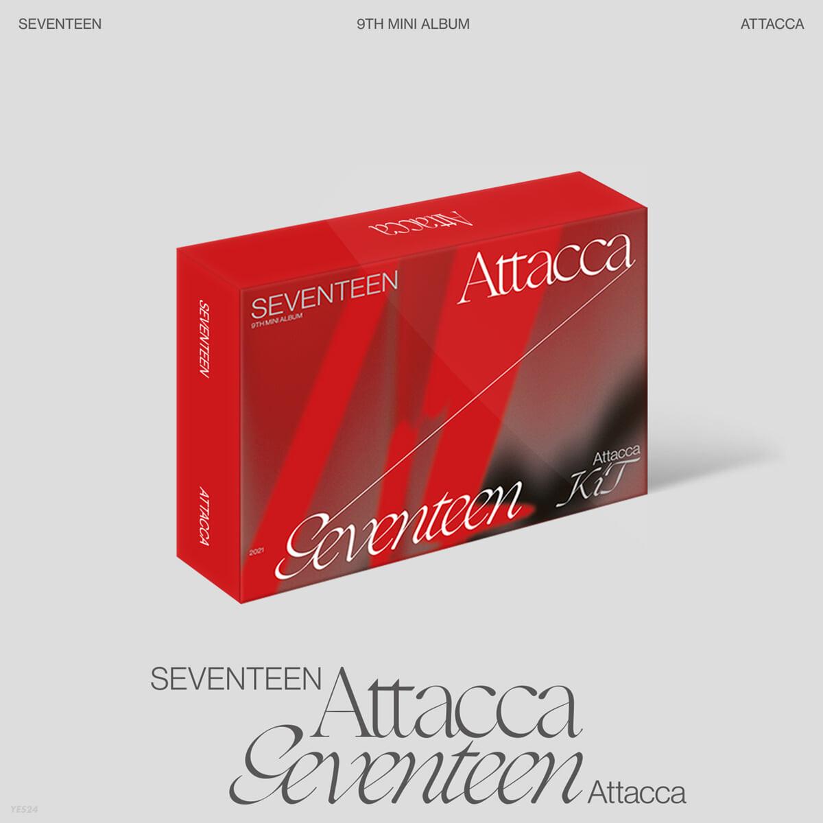 세븐틴 (Seventeen) - 미니앨범 9집 : Attacca [키트앨범]