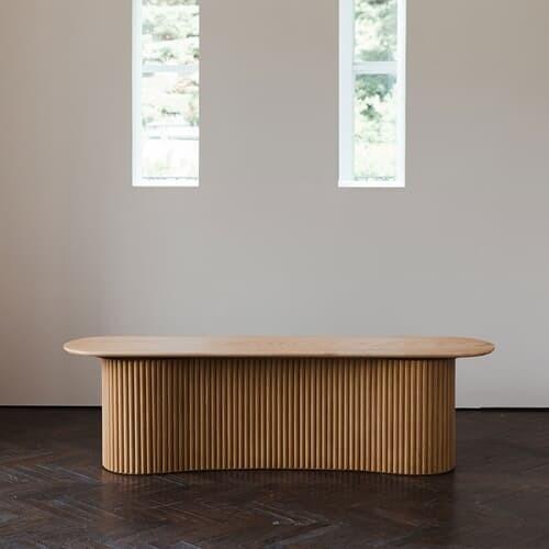 베네 오크 벤치 아일랜드 식탁 테이블 의자 5size
