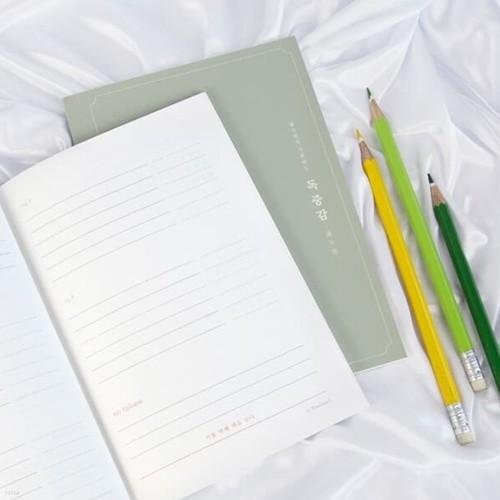 읽으면서 쓰는 독서기록장, 독중감 B6 무선 제본