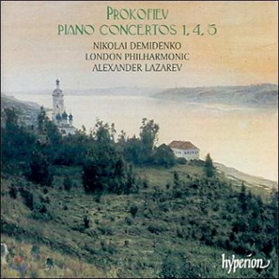 Nikolai Demidenko 프로코피에프: 피아노 협주곡 1, 4, 5번 (Prokofiev: Piano Concertos Nos. 1, 4, 5)