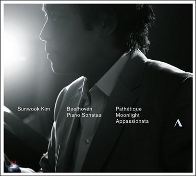 김선욱의 세 번째 음반 - 베토벤: 피아노 소나타 8번 '비창', 14번 '월광', 23번 '열정' (Beethoven: Piano Sonatas - Pathetique, Moonlight, Appassionata)