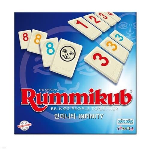 [코리아보드게임즈] 루미큐브 인피니티 Rummikub Infinity