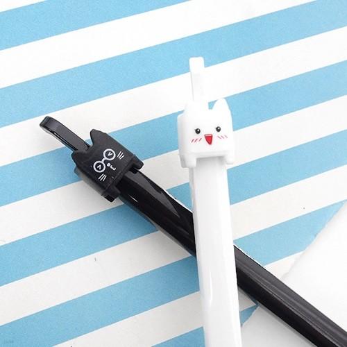네모 고양이 중성펜
