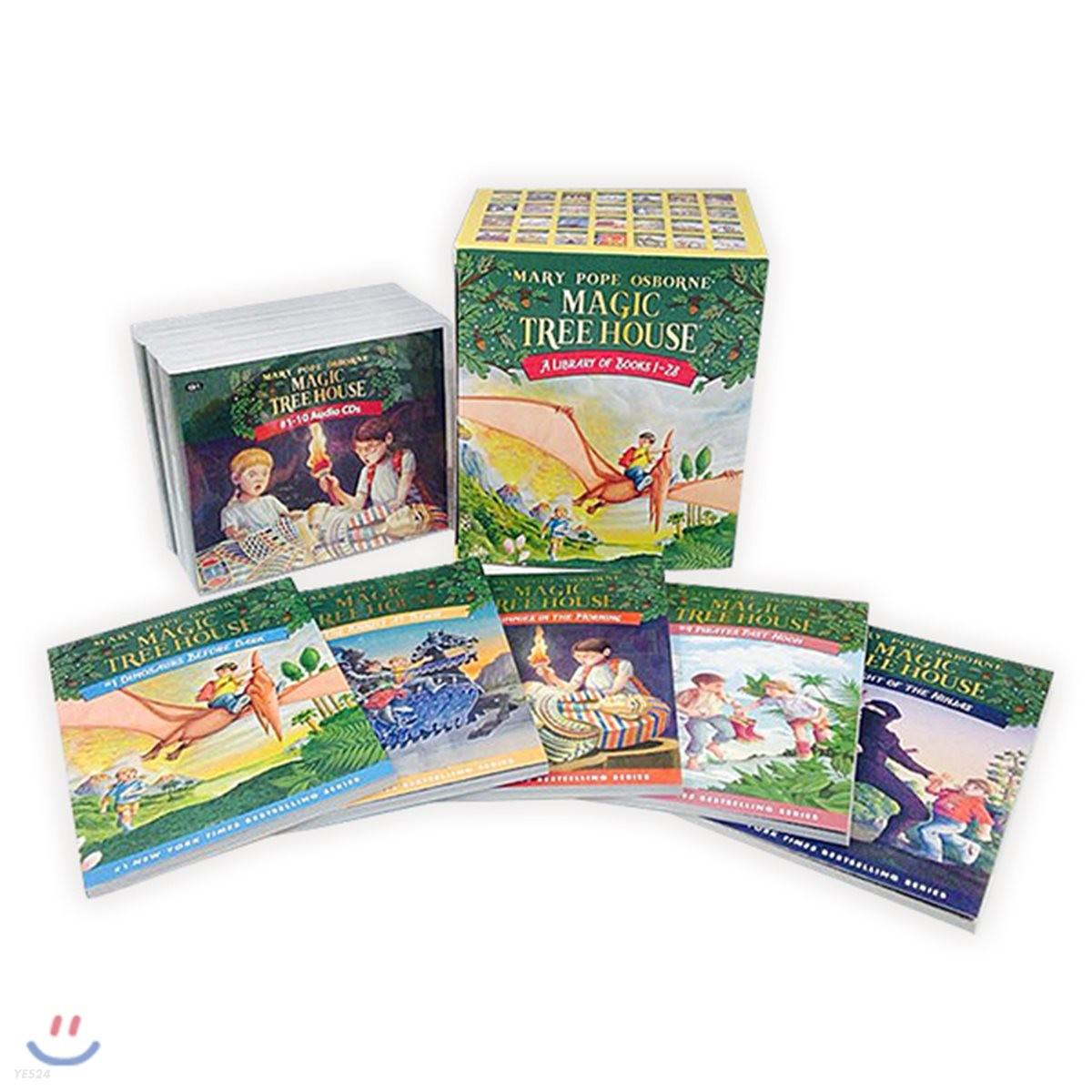 Magic Tree House #1~28 Set (Book+CD+단어장)