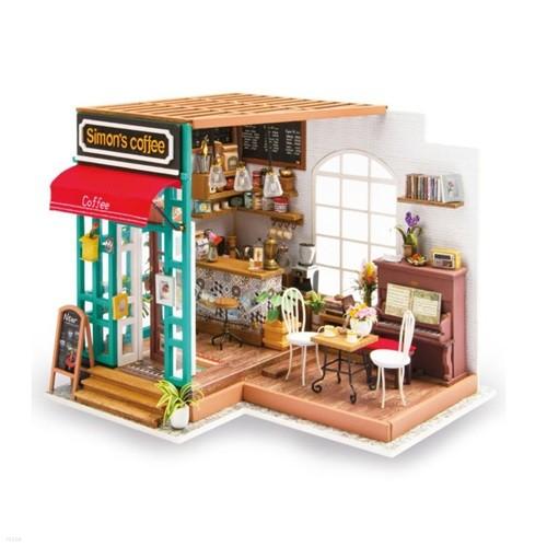 [adico] DIY 미니어처 시그니처 하우스 - 커피숍