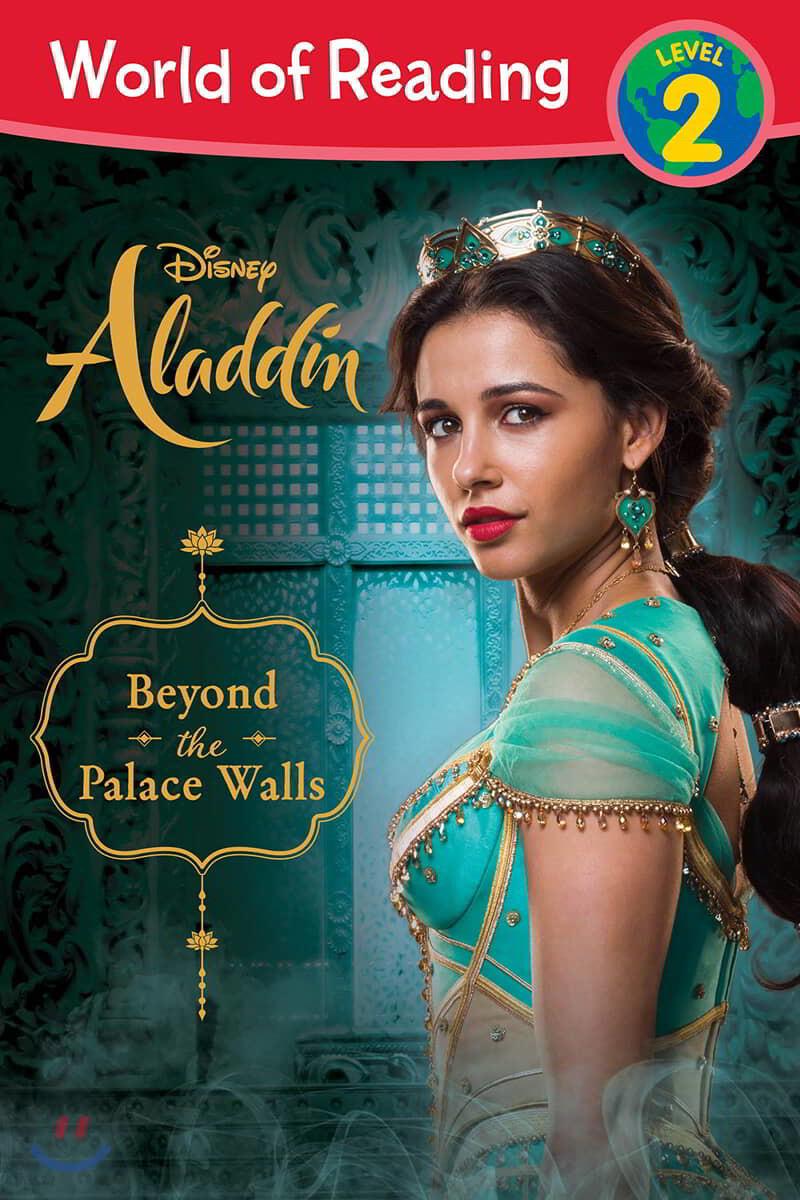 World of Reading: Aladdin Beyond the Palace Walls: Level 2