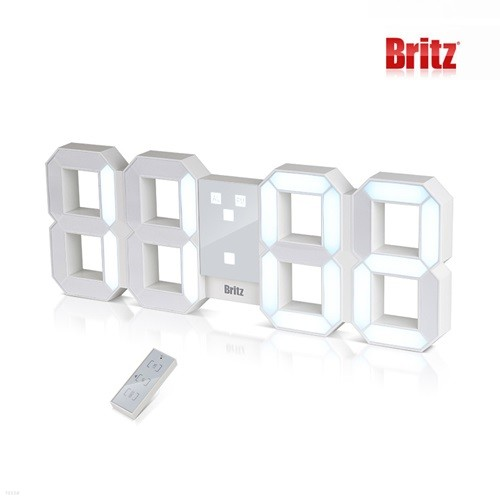 브리츠 BZ-EW524L-ET 3D LED 조명 벽시계