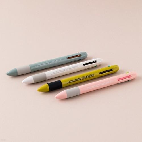 [20%할인]LIFE&PIECES 4색 젤 펜