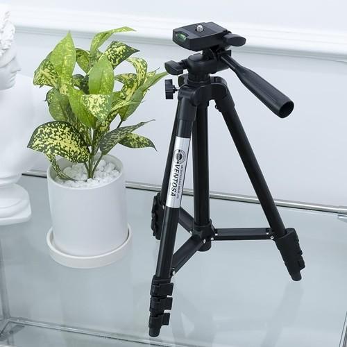 벤토사 카메라 스마트폰 삼각대 4단 VTS-TP001BF 블랙 세트형