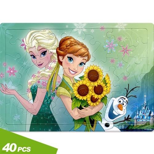 판퍼즐40피스 겨울왕국 피버_해바라기 한아름  40-23