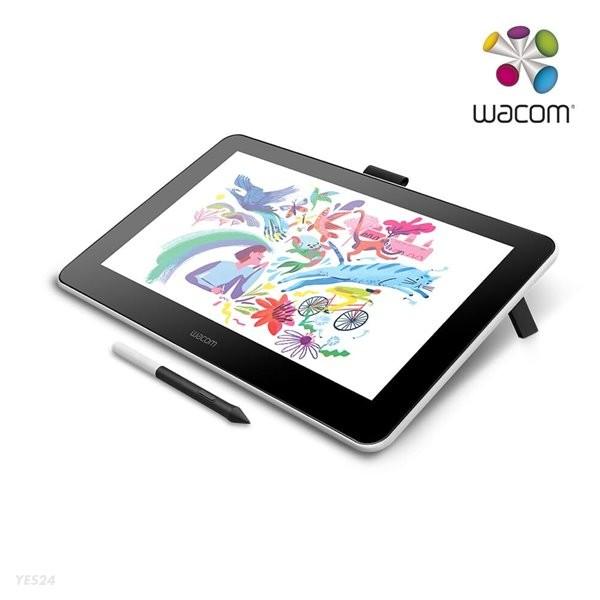 와콤 원 13.3형 액정타블렛 wacom one DTC133+ 전용파우치 + 하이유니펜 증정