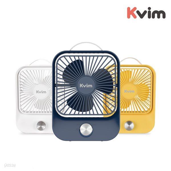 케이빔 다이얼식 무단풍속 무선 탁상용 선풍기 DF-2200 (화이트/옐로우/네이비)