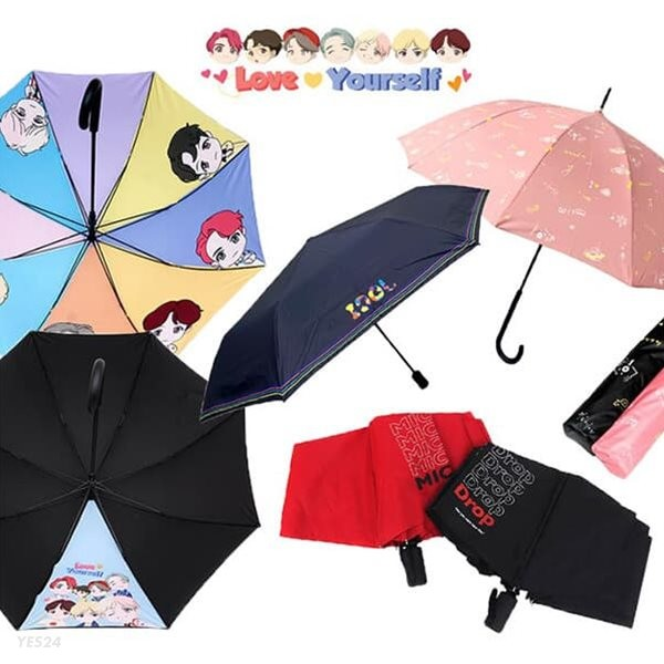 컴백 BTS 방탄소년단 우산 정품