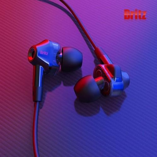 브리츠 BZ-EA30 고음질 듀얼유닛 인이어 유선 게이밍 이어폰
