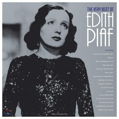 Edith Piaf (에디뜨 피아프) - The Very Best of Edith Piaf [투명 컬러 LP]
