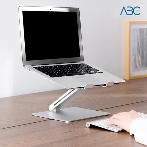 ABC 프리미엄 알루미늄 높이조절 각도조절 노트북 받침대 거치대
