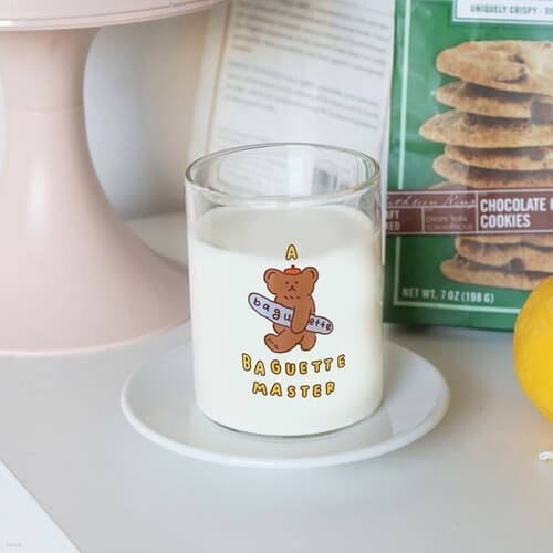 [로마네] 브런치 브라더 심플 유리컵