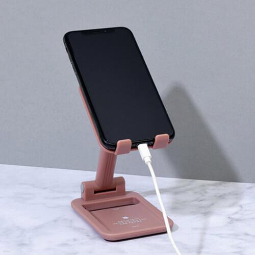 [예스베리굿즈] 멀티 휴대폰 거치대 VER.2 - 김영랑(드라이 핑크)