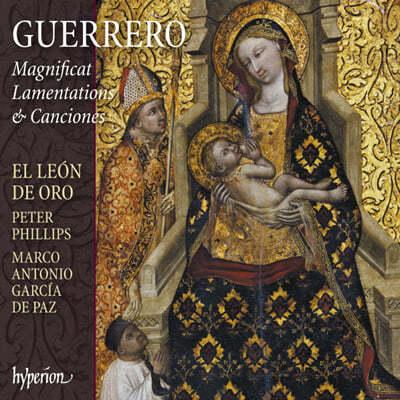 El Leon de Oro 프란시스코 게레로: 마니피카트, 애가, 칸시온집 (Francisco Guerrero: Magnificat, Lamentations, Canciones)