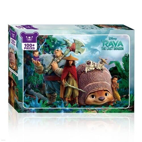 라야와 마지막 드래곤 100피스 디즈니 아동용직소퍼즐